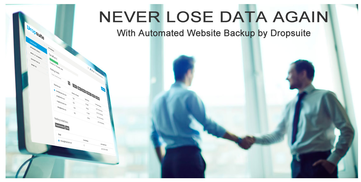 dropsuite website backup