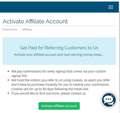 affiliate activate